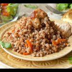 Домашние видео-рецепты — гречка с куриным филе в мультиварке