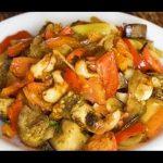 Домашние видео рецепты —  овощное рагу с фаршем в мультиварке