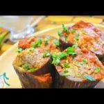 Домашние видео рецепты: фаршированные баклажаны в мультиварке