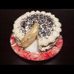 ♨️Вкусный бисквитный торт со взбитыми сливками в мультиварке, рецепт торта #рецепты для мультиварки