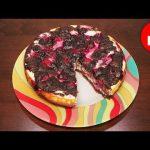 Вкусный брауни с творогом и вишней в мультиварке, рецепт #рецепты для мультиварки