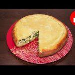 Вкусный пирог с зеленым луком и яйцом в мультиварке, рецепт #рецепты для мультиварки