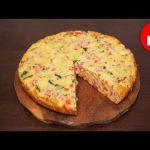 Вкусный пирог с ветчиной и сыром в мультиварке, рецепт #рецепты для мультиварки