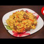 Вкусный плов из перловки с мясом в мультиварке, рецепт #рецепты для мультиварки