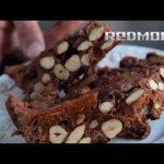 Мультиварка REDMOND IH300. Рецепты для мультиварки # 39: Шоколадный пирог панфорте с орехами