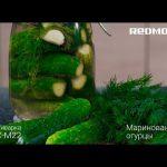 Рецепт «Маринованные огурцы» в мультиварке REDMOND RMC-M22