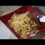 Домашние видео рецепты — рис с овощами в мультиварке