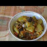 Домашние видео рецепты — овощное рагу в мультиварке