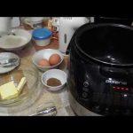 Домашние видео рецепты —  кофейный кекс в мультиварке