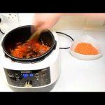 Суп пюре из Чечевицы в Мультиварке Скороварке Redmond RMC P 35O Рецепты для скороварки