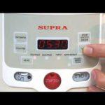 Мультиварка: Обзор мультиварки SUPRA-MCS-3510