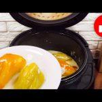 Обед или ужин для тех, кому некогда долго готовить! Фаршированный перец в мультиварке без возни!