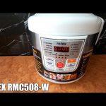Обзор Мультиварки ROTEX RMC508-W из Rozetka