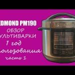 Мультиварка скороварка Redmond RMC-PM190. Обзор и мнение. Часть 1