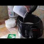 Домашние видео рецепты —  натуральный йогурт в мультиварке
